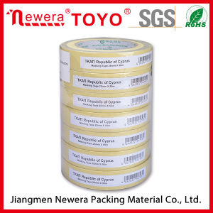 High Temperature Resistance Hot Melt Rubber Masking Tape pictures & photos