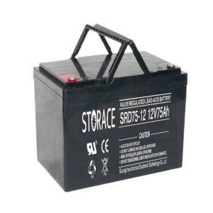 Deep Cycle Battery SRD75-12 12V75Ah for Solar System pictures & photos