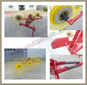 Farm Machinery Hay Rake for Sjh Tractor pictures & photos