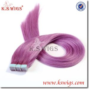 Tape Hair Indian Remy Human Hair Extension pictures & photos