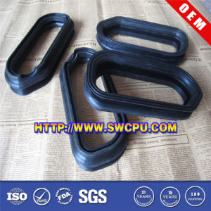 Custom Straight Multi-Convolute Rubber Bellows (SWCPU-R-M001) pictures & photos
