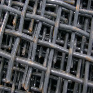 Crimped Wire Mesh Panel in Mining