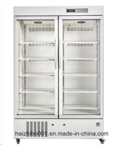 656L Double Doors Upright Style Medical Refrigerator (HEPO-U656) pictures & photos