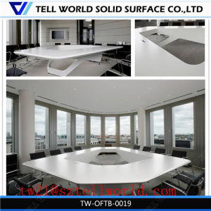 Repairable Exquisite Office Conference Boardroom Table Marble Conference Table pictures & photos