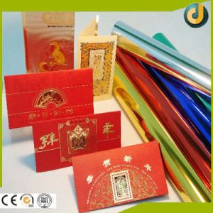 High Quality Colorful Hot Stamping Paper Application pictures & photos