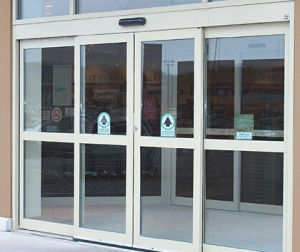 Double Open Automatic Glass Sliding Doors (DS-100) pictures & photos
