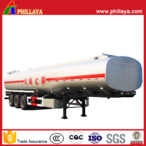 3axle Carbon Steel Fuel Tanker pictures & photos