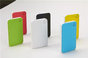 Super Slim Dual USB Power Bank Emergency Power Bank Type Gadgets pictures & photos