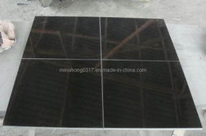 Absolute Black Granite Tiles, Black Granite Slabs pictures & photos