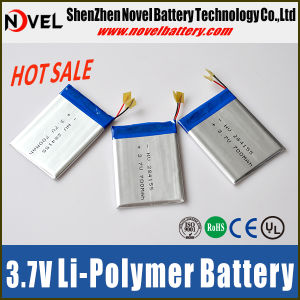 Lithium Polymer Battery 3.7V 600mAh with CE/UL Certificate