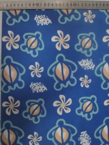 Blue Flower Printing 600d Fabric pictures & photos