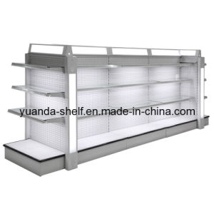 Steel Supermarket Cosmetic Goods Display Luxury Shelf pictures & photos