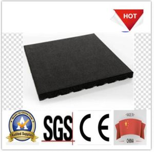 One Meter Square Rubber Tile/Rubber Paver pictures & photos