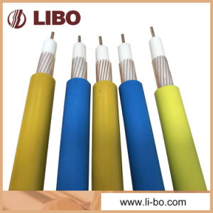 Leaky Feeder Cable of Slywv Bare Copper Wire Braiding Fire Retardant pictures & photos