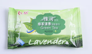Green Tea 10 PCS Easy Carried Body Care Cleaning Wet Wipes Tissue pictures & photos