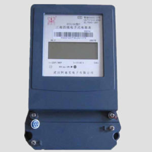 Three Phase Remote Digital Impluse Output Energy Meter/Watt -Hour Meter pictures & photos
