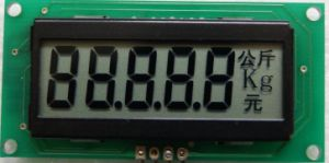 Monochrome LCD Indicator for Scale