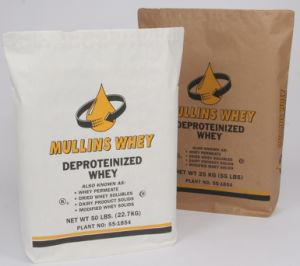Kraft Paper Bag Packaging for Mullins Whey Flour pictures & photos