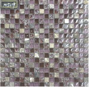 Floor&Wall Mosaic/Crystal and Stone Mosaic/Glass Mosaic/Mosaic Tile, (VM15014)