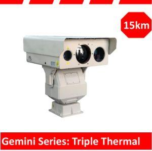 Gemini Triple Spectrum Long Range IR Infrared IP Network PTZ Camera pictures & photos