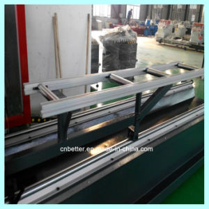 Aluminum Window Double Head Precision Cutting Saw pictures & photos