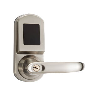 Hotel Lock Small Electronic Lock with MIFARE Card Plated Satin Nickel pictures & photos