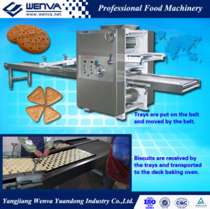 Tray Type Soft Biscuit Shaping Machine pictures & photos