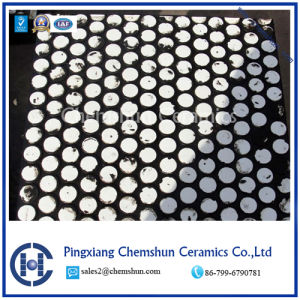 Chemshun Industry Rubber Ceramic Wear Liner with Ceramic Cylinder Manufactueres pictures & photos