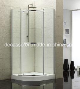 Sector Slidingtempered Glass Aluminium Alloy Shower Enclosure (DV-S) pictures & photos