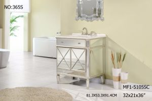 Mirrored Vanity Cabinet with Two Doors for Bathroom pictures & photos