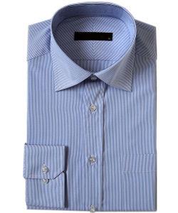 Men′s Cotton/ Poly Dress Shirts (PL-M-SHT009)