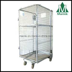 4 Sides Roll Container/Roll Cage/Warehouse Trolley pictures & photos