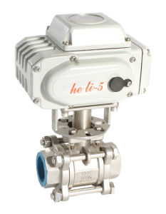 Electric Ball Valve Hl-05 for Rotary Actuator pictures & photos