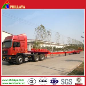 Air Suspension Four Axles Extendable Lowbed Trailer pictures & photos