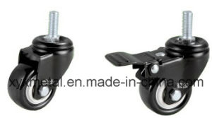 Light Duty Caster Rotating Caster. Double Bearing Electroplate Black Frame, Mute Design. Meduim Duty Caster pictures & photos