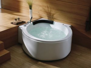 Triangle One Person Jacuzzi Massage Bathtub Ba-M229 pictures & photos
