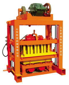 Qtj4-40 Concrete Hollow Block Making Machine in Kenya pictures & photos