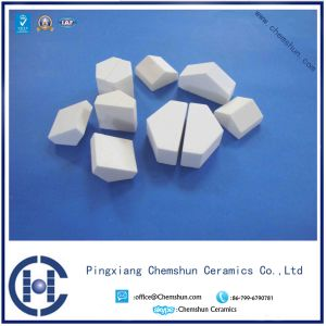 Alumina Oxide Ceramic Half Hexagon Mosaic Tile with 92% & 95% Al pictures & photos