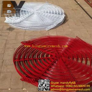 High Quality Powder Coated Fan Cover pictures & photos