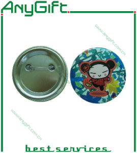 Metal Button Badge with Customized Logo (LAG-MP-28) pictures & photos