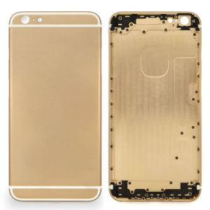 Wholesale Mobile Phone Gold Battery Cover for iPhone 6 Plus
