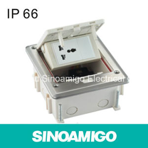 IP66 Water Proof Grade Floor Socket Outlet pictures & photos