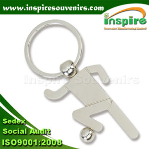 Promotional Blank Football Sport Metal Key Chain (K 906) pictures & photos