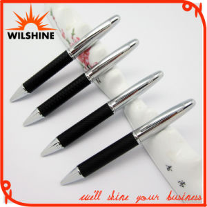 New Design PU Leather Metal Ball Pen for Gifts (BP0002) pictures & photos