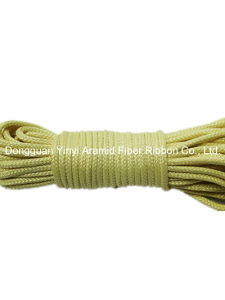 Environmental Protection High Altitude 2mm Aramid Braided Rope pictures & photos