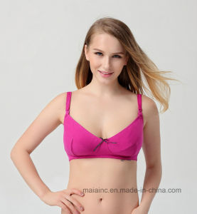 High Quality Ladies Comfortable Maternity Bra pictures & photos