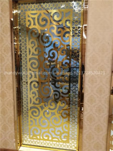 Modern Design Stainless Steel Laser Cut Decorative Room Screens pictures & photos