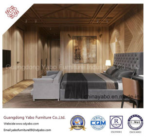 Smarness Hotel Furniture with Dark Grey Bedroom Set (YB-W21) pictures & photos