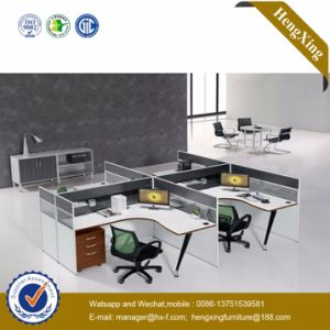 Fashion Office Furniture 4 Person Seats Office Partition (HX-TN246) pictures & photos