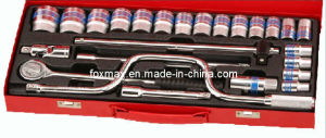 "25PCS 1/2""Dr. Blue Tie Socket Set (SK-25) pictures & photos"